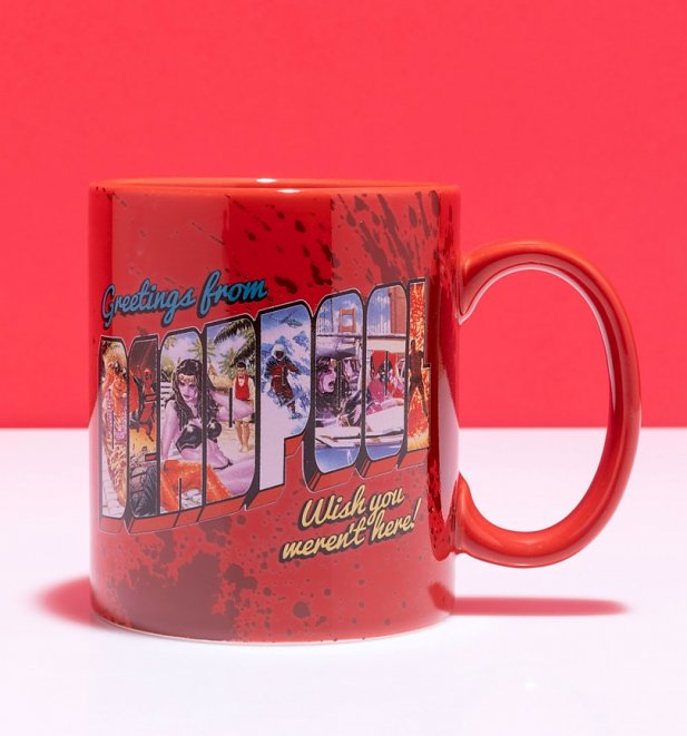 Marvel Comics Greetings from Deadpool Mug
