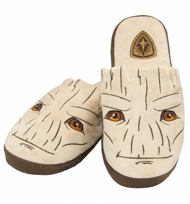 Marvel Comics Guardians Of The Galaxy Groot Slip On Slippers