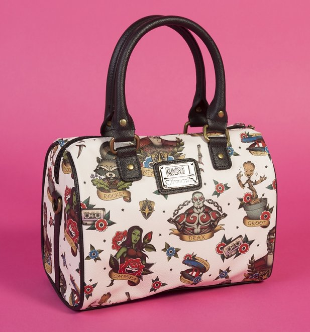 Loungefly x Marvel Guardians of the Galaxy Tattoo Flash Print Duffle Bag