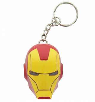 Marvel Comics Iron Man LED Keyring Torch