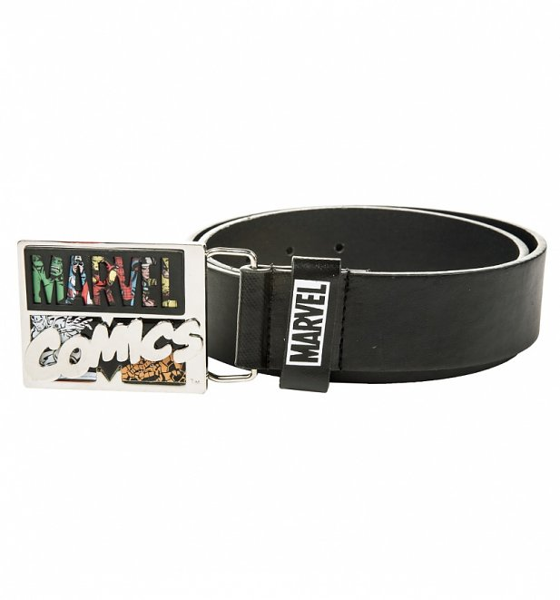 Marvel Comics PU Belt