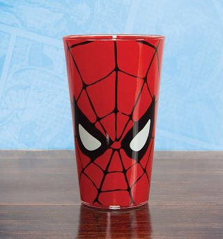Marvel Comics Spider-Man Glass