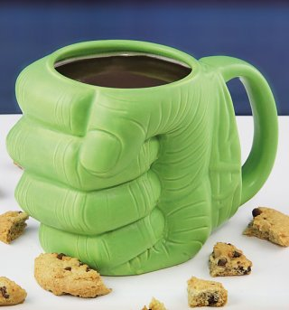 Marvel Comics The Incredible Hulk 3D Fist Mug
