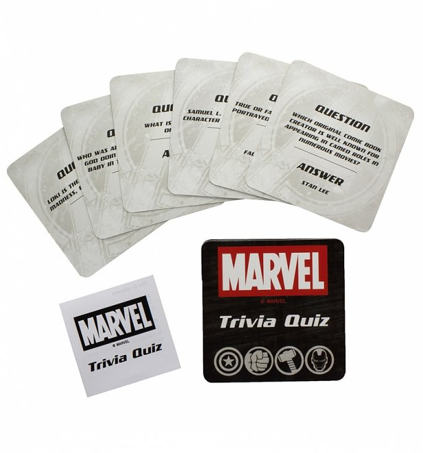 Marvel Comics Trivia Quiz