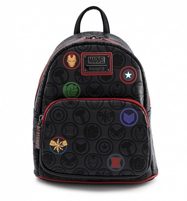 Marvel Icons All Over Print Mini Backpack from Loungefly