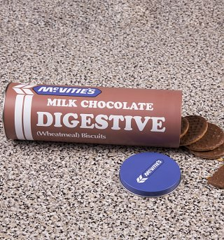 McVitie's Chocolate Digestives Biscuit Tin
