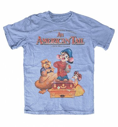 Men's An American Tail Carolina Blue T-Shirt