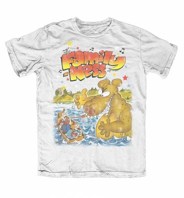 Men's Retro Family Ness White T-Shirt