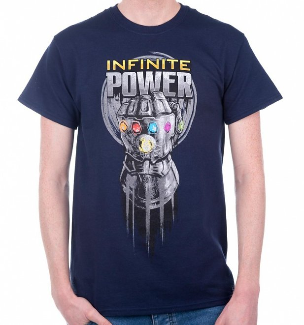 Men's Avengers: Infinity War Power Glove T-Shirt
