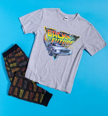 Men's Back To The Future Pyjamas