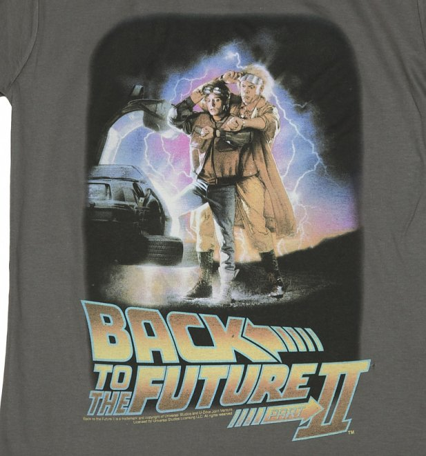 Men's Back to the Future Part II Movie Poster T-Shirt
