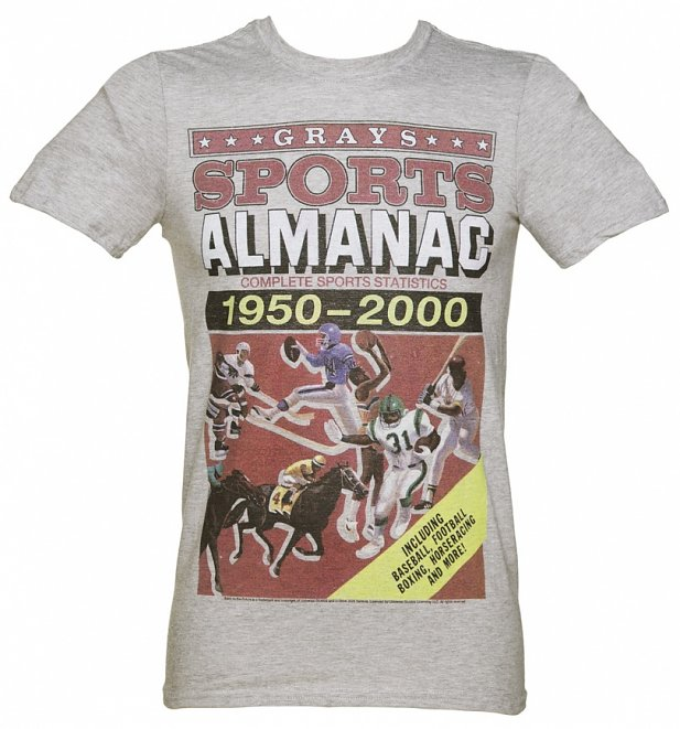 Men's Back to the Future Sports Almanac T-Shirt