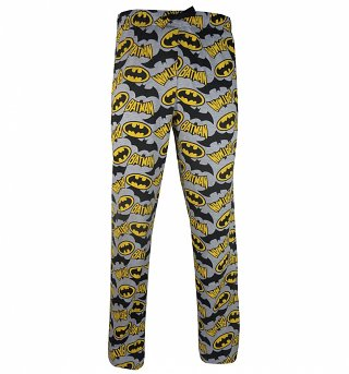 Men's Batman Logo Lounge Pants