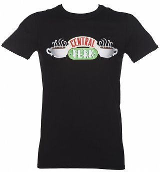 Men's Black Central Perk Friends T-Shirt
