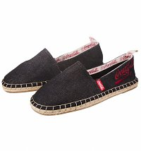 Men's Black Denim Coca-Cola Espadrilles