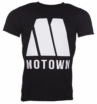 Men's Black Motown M Logo T-Shirt