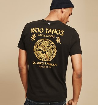 Men's Black Woo Tangs T-Shirt from Chunk
