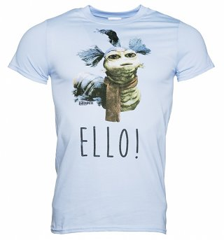 Men's Blue Labyrinth Worm Ello T-Shirt