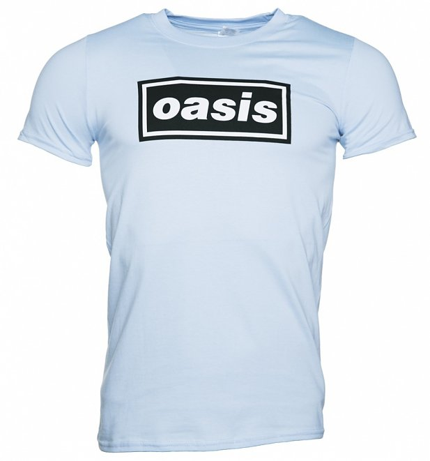 Men's Blue Oasis Logo T-Shirt