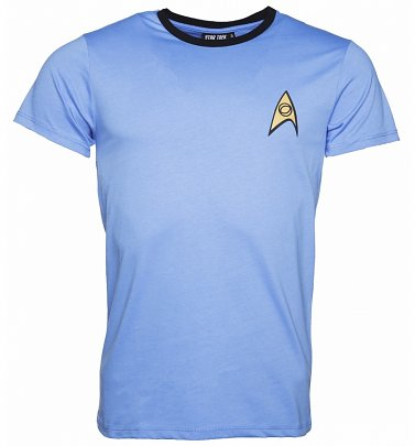Men's Blue Spock Star Trek Costume T-Shirt
