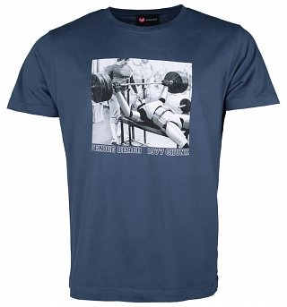 Men's Blue Venice Beach Stormtrooper Star Wars T-Shirt from Chunk