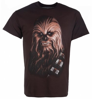 Men's Brown Star Wars Chewbacca T-Shirt