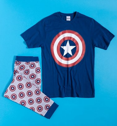 Men's Captain America Marvel Pyjamas