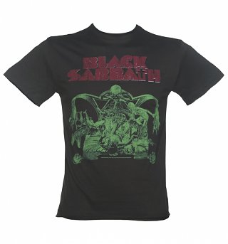 Men's Charcoal Black Sabbath Bloody Sabbath T-Shirt from Amplified