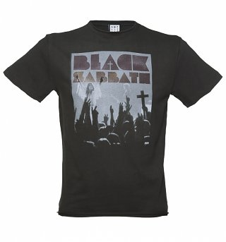 Men's Charcoal Black Sabbath Victory T-Shirt from Amplified