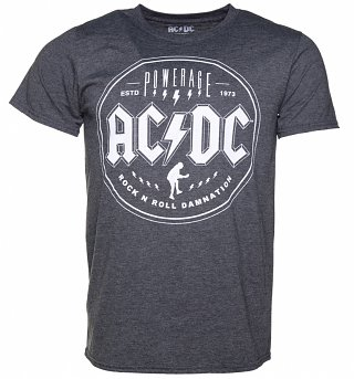 Men's Charcoal Heather AC/DC Powerage T-Shirt