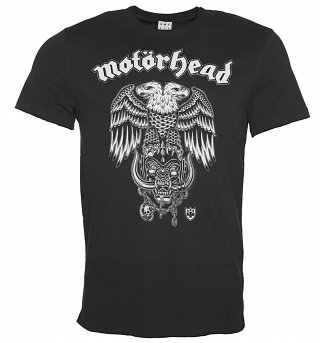 Men's Charcoal Motorhead Hiro Double Eagle T-Shirt from Amplified