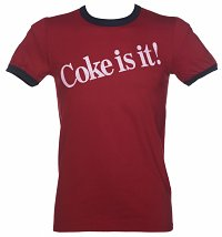 Men's Coke Is It! Ringer T-Shirt