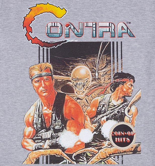 Men's Contra Konami T-Shirt