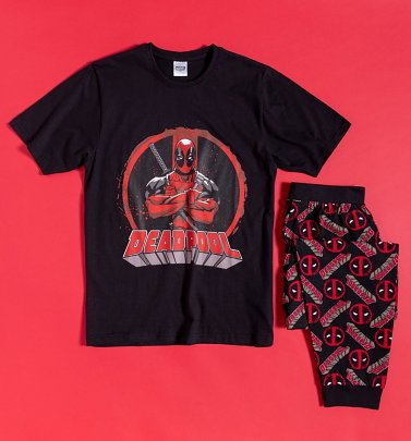 Men's Deadpool Pyjamas