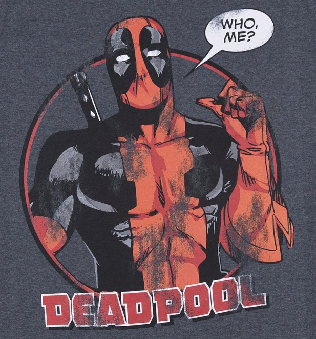 Men's Deadpool Who Me T-Shirt