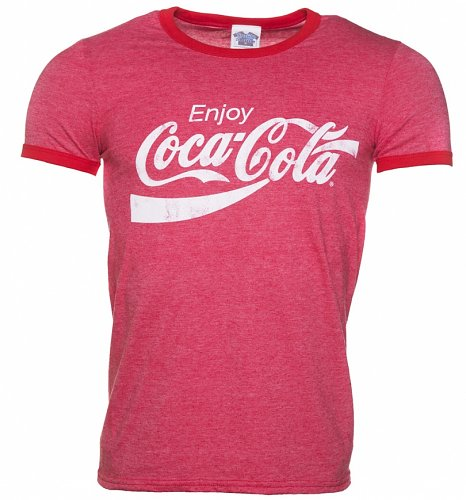 Men's Enjoy Coca-Cola Ringer T-Shirt