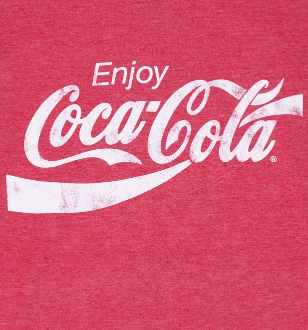 Mens Enjoy Coca Cola Ringer T Shirt