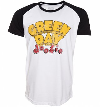 Men's Green Day Dookie Baseball T-Shirt
