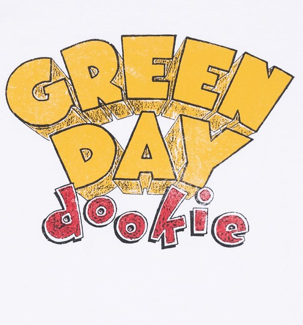 mens green day dookie baseball tshirt