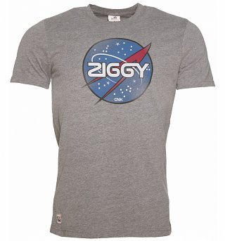 Men's Grey Ziggy T-Shirt from Chunk