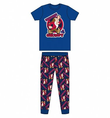 Men's Grumpy Seven Dwarfs Warning Pyjamas