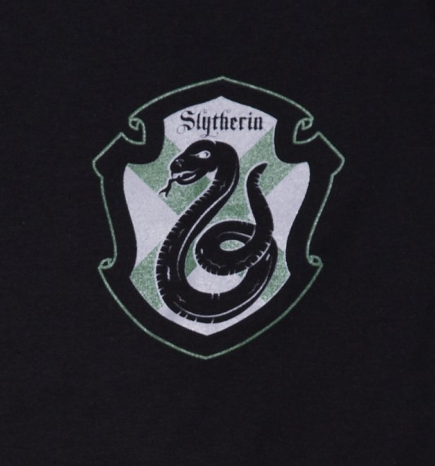 Men's Harry Potter Slytherin Crest T-Shirt