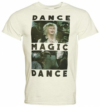 Men's Jareth Dance Magic Dance Labyrinth Heavyweight T-Shirt
