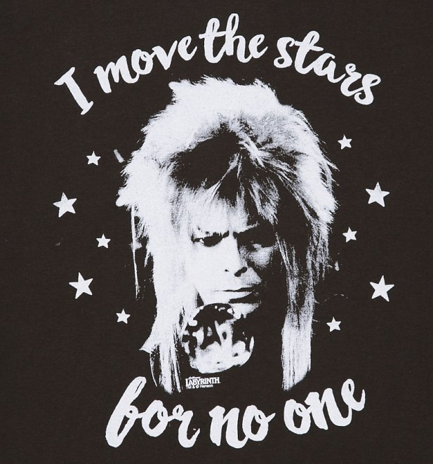 Men's Jareth I Move The Stars For No One T-Shirt