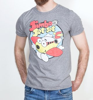 Men's Jimbo And The Jet Set Classic Heather Graphite T-Shirt