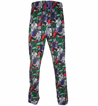 Men's Joker Collage Lounge Pants