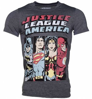 Men's Justice League Line Up DC Comics T-Shirt