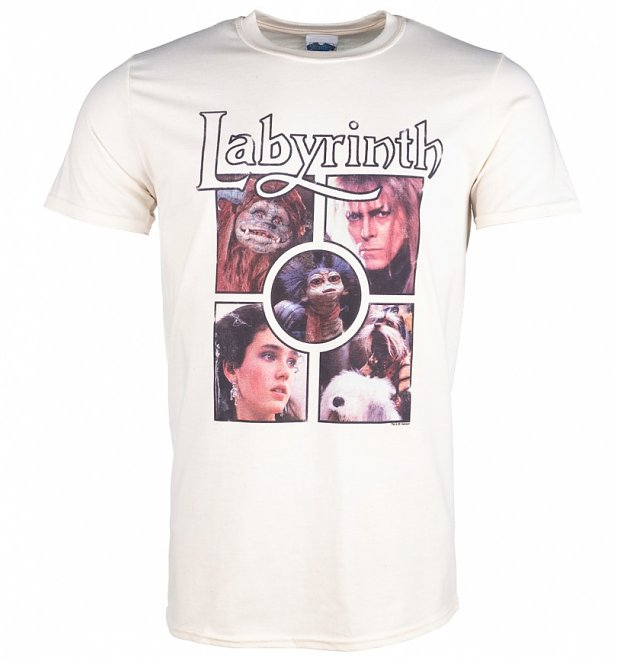 Men's Labyrinth Character Collection Ecru T-Shirt