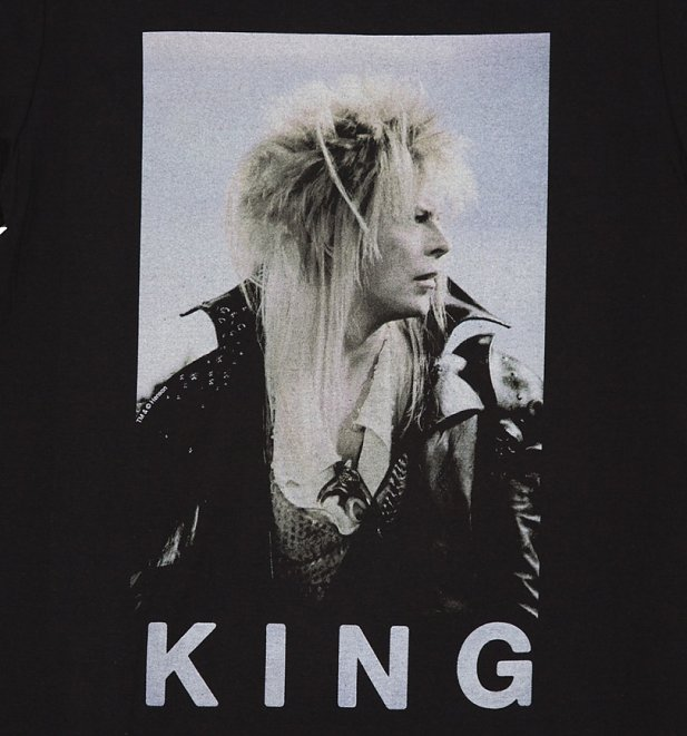 Men's Labyrinth Jareth The Goblin King Bowie T-Shirt