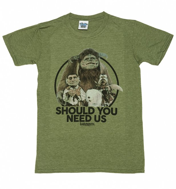 Men's Labyrinth Should You Need Us T-Shirt